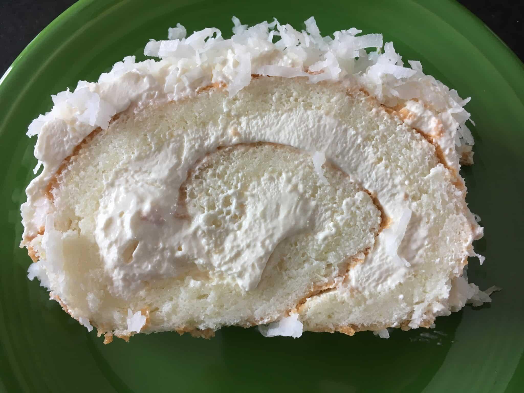 How to Make an Angel Food Cake Roll