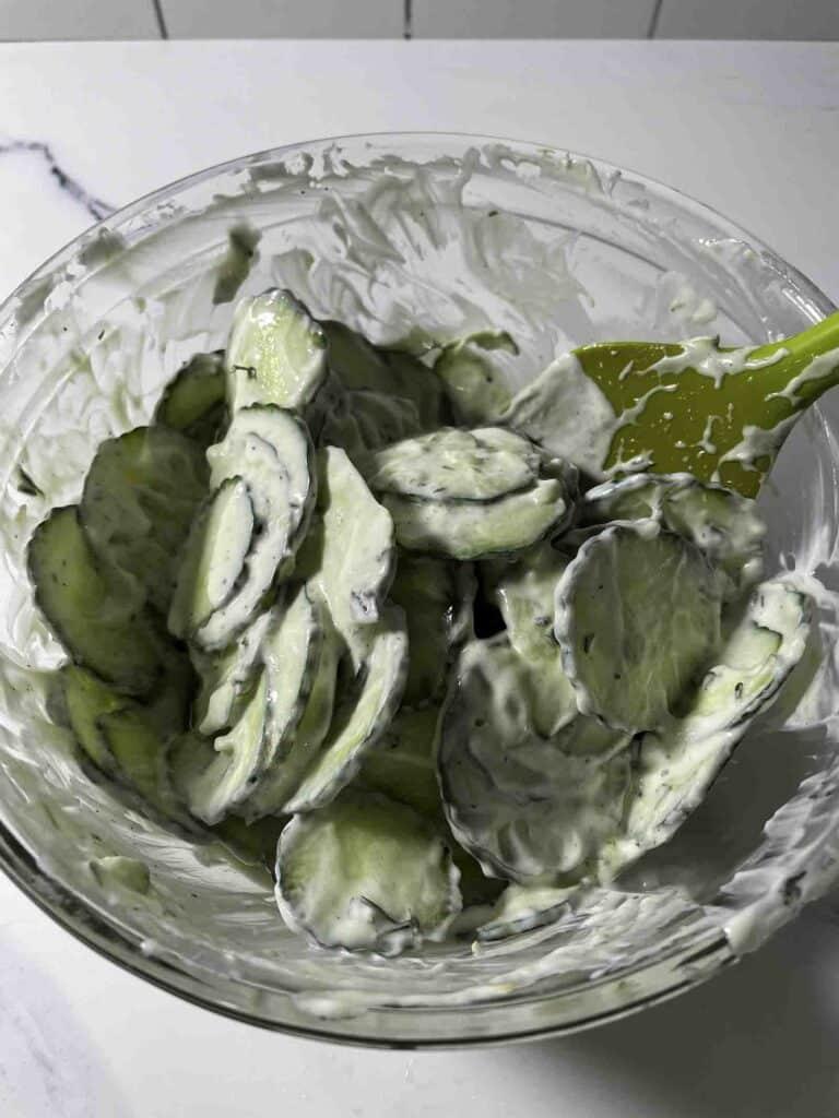 cucumber tzatziki salad