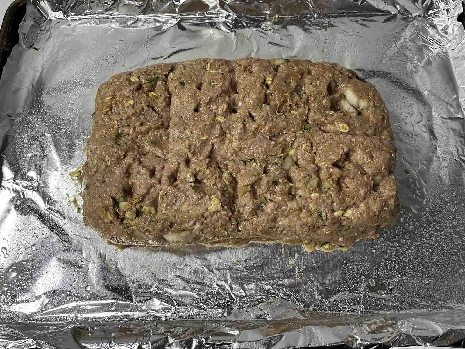 turkey mini meatloaf mixture