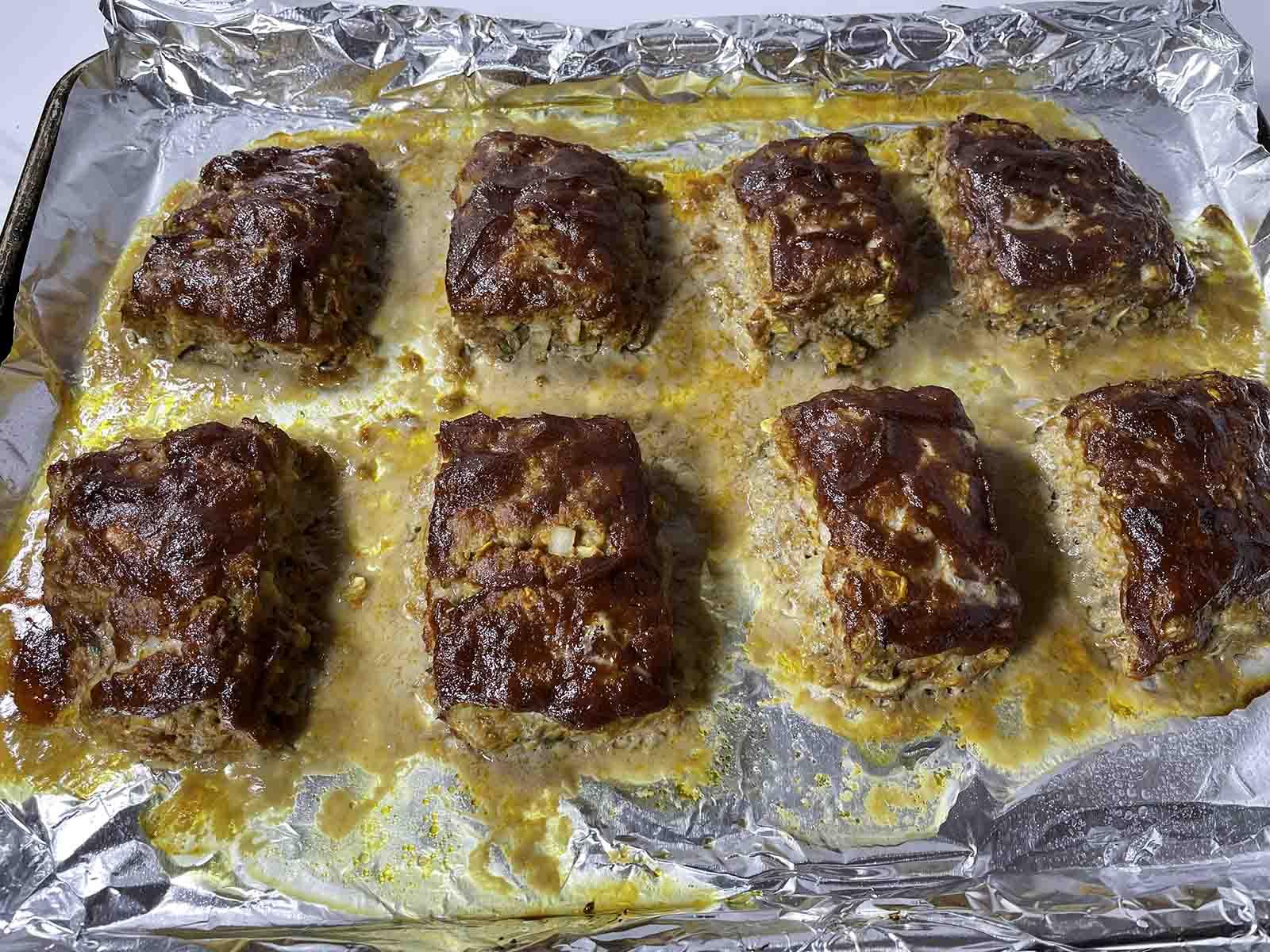 turkey mini meatloaf