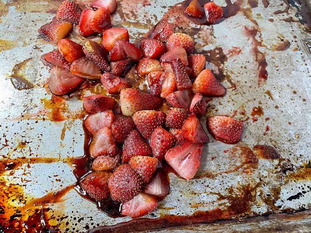 Roasted Strawberries in Balsamic Vinegar