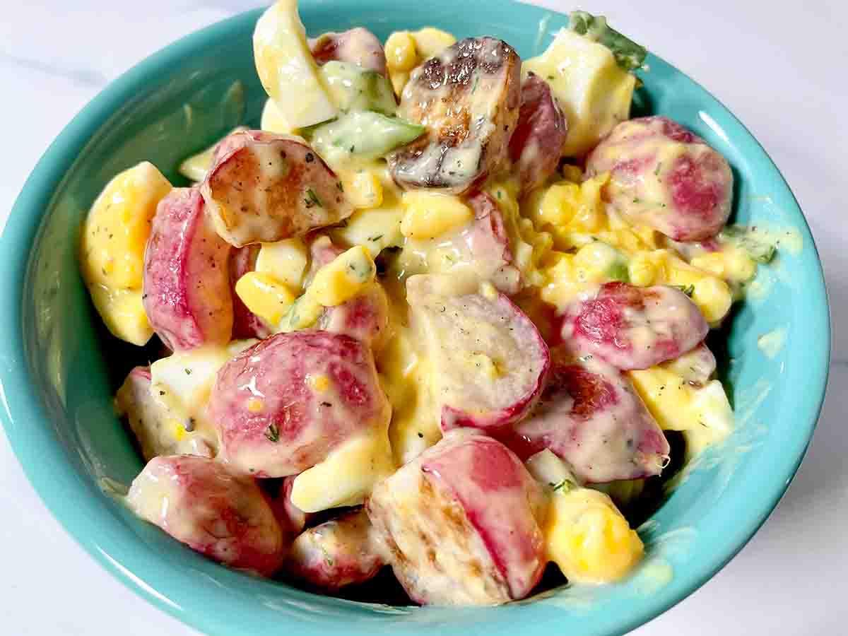 """roasted radish """"potato"""" salad"""