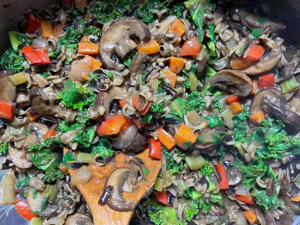 Wild Rice & Mushroom Pot Pies