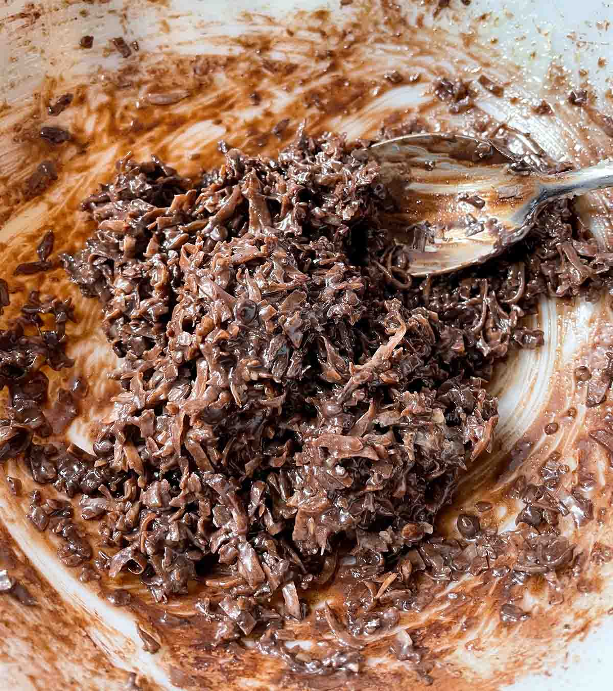 Triple-Chocolate Macaroons