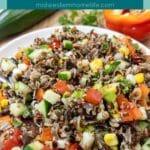 Summer Vegetable Grain Salad