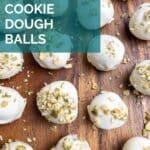 Pumpkin Gingersnap Cookie Dough Balls