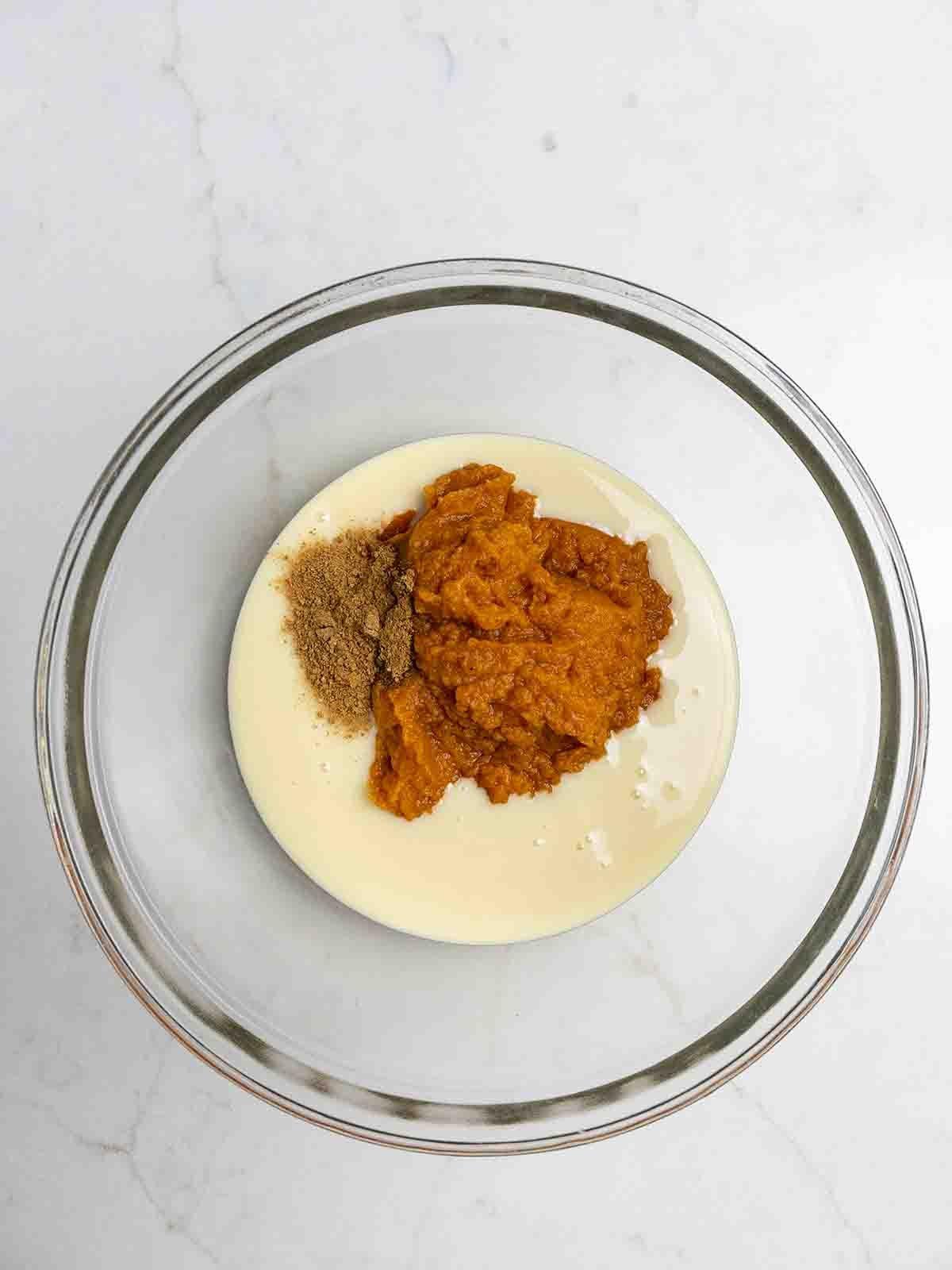 7-Layer Pumpkin Spice Cake Bars